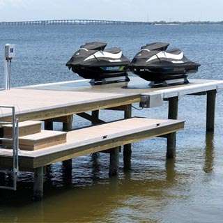Land and Sea Marine No Profile Platform Lifts