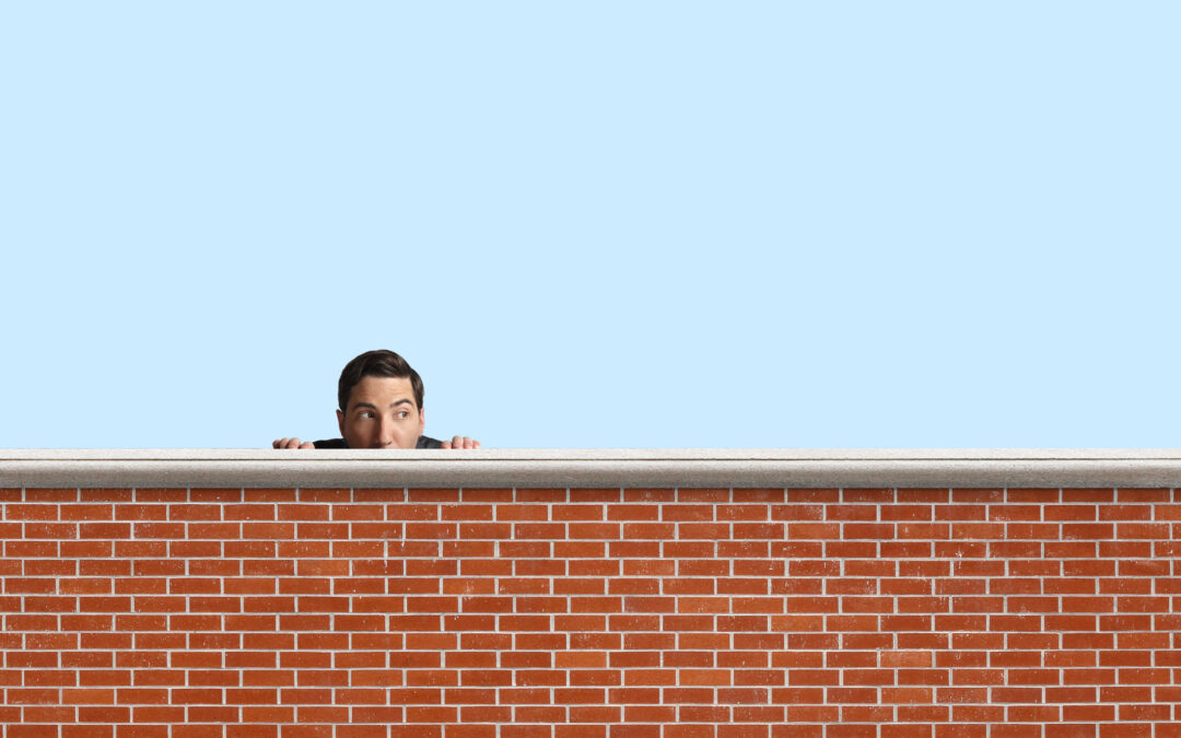 Hide Behind Walls? Or Find the Courage to be Real?