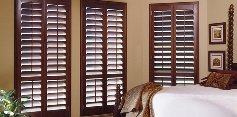 Solid Wood Plantation Shutters
