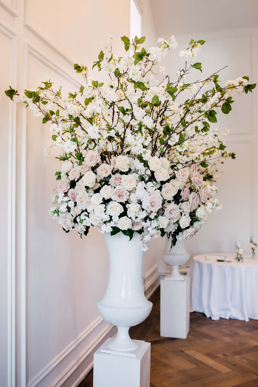 Beautiful Floral Arrangements in the Heritage House