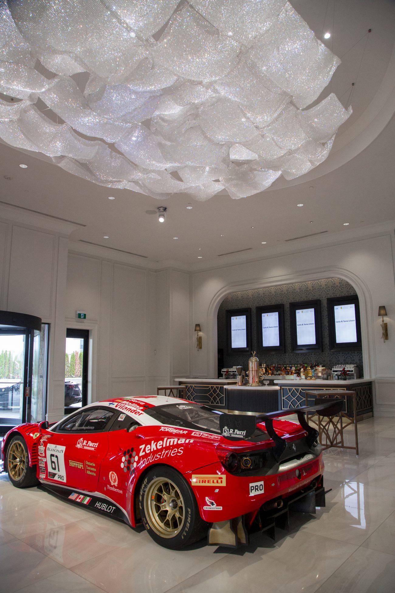 Ferrari in West Lobby