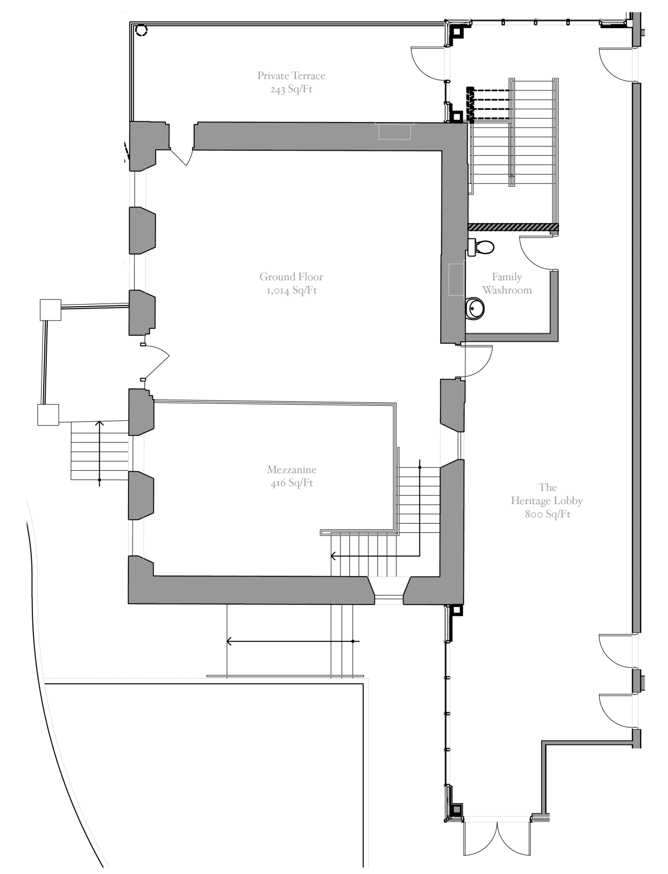Heritage House Chapel Floorplan