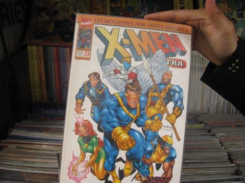 X战警在巴黎的漫画