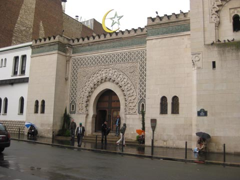 入口巴黎清真寺