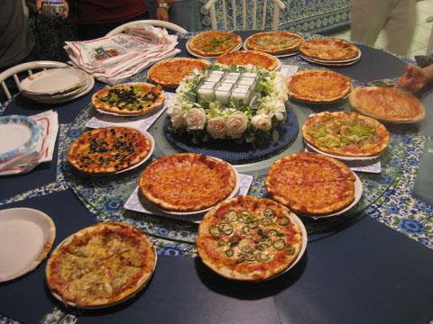 辛哈著名的比萨