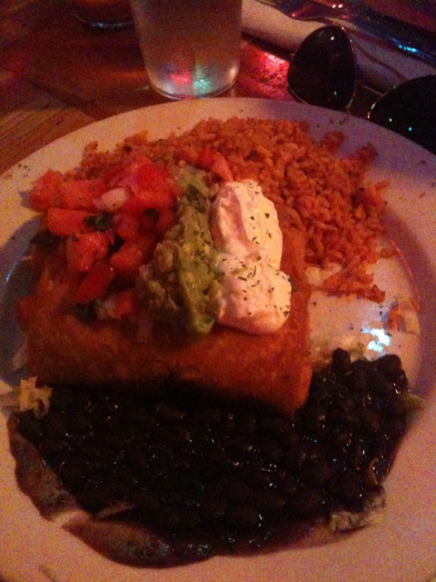 鸡Chimichanga,$ 14.95