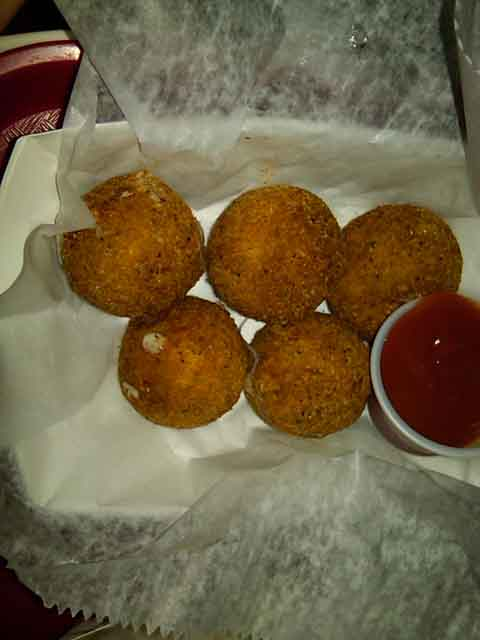 Crispy Cheeseballs, $2.99