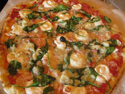 罗马涅大比萨饼,$ 18.50为大