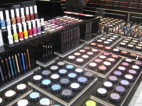 化妆,Inglot在纽约