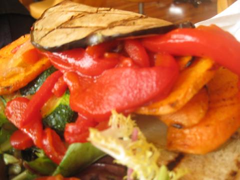 素食三明治