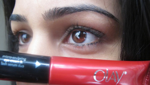 Olay Regenerist Eye Cream Lash Serum Duo Road Test Day 1