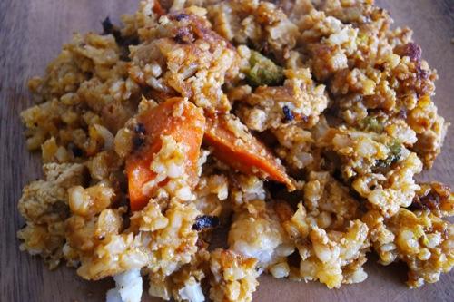 红咖喱豆腐