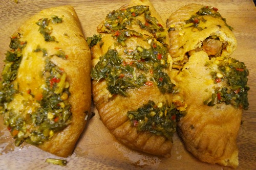 Veggie empanadas