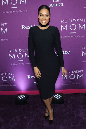 La La Anthony was recently named Residence Inn's Resident Mother Of The Year