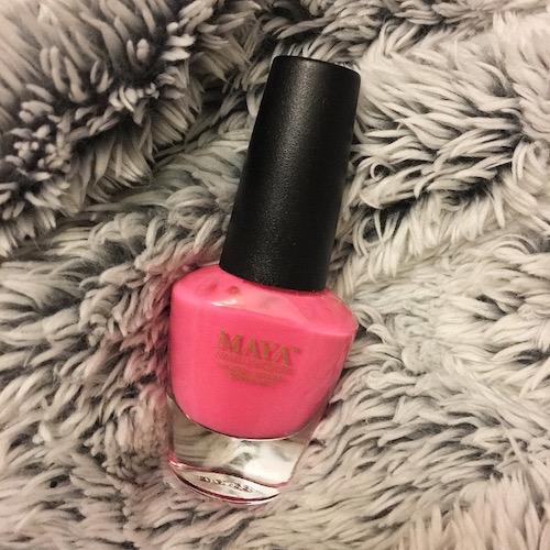 Maya Cosmetics Pepto Pink Nailpolish