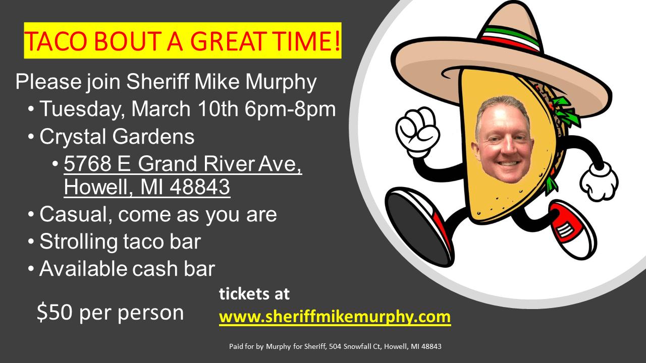 Re-elect Livingston County Sheriff Mike Murphy Michigan
