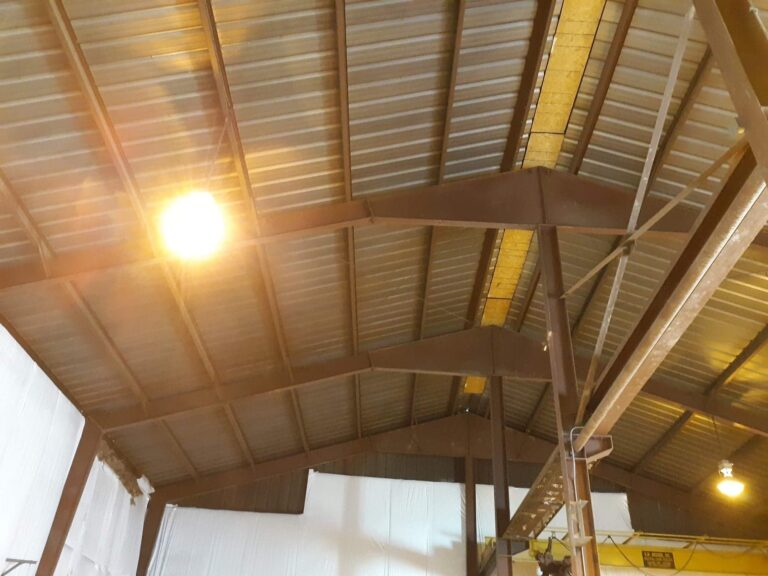 before the spray foam insulation process