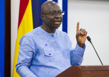 Samuel Atta Akyea, Minister for Works and Housing. His ministry is sponsoring the bill