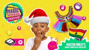 Head on over to the Boomerang Africa page from 16 December and get creative with cute crafts tutorials!