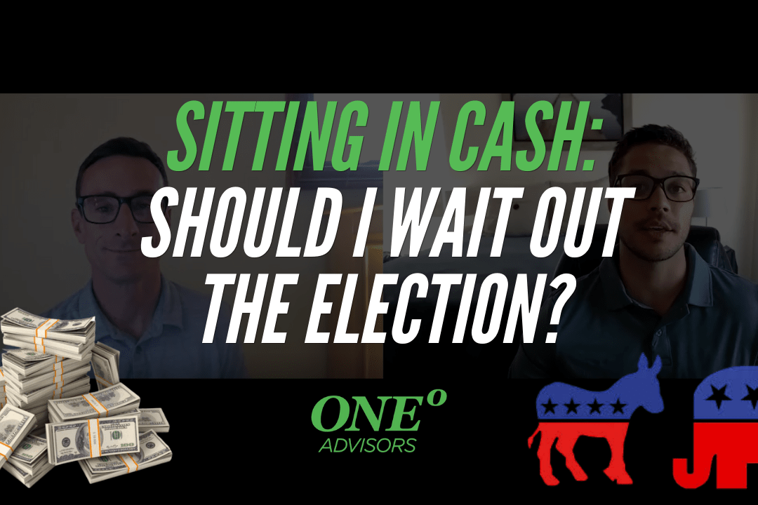 Should I wait out the election and sit in cash?