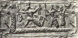 Marduk Hold Vajra Weapon - weapons of the gods
