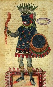 Vajra in Mayan Art