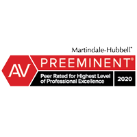 Martindale-Hubbell AV Badge 2020