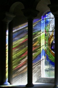 Peace Be With You - Church Window