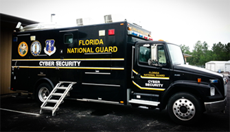 Florida National Guard Truck