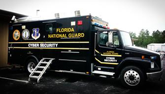 Florida National Guard Truck