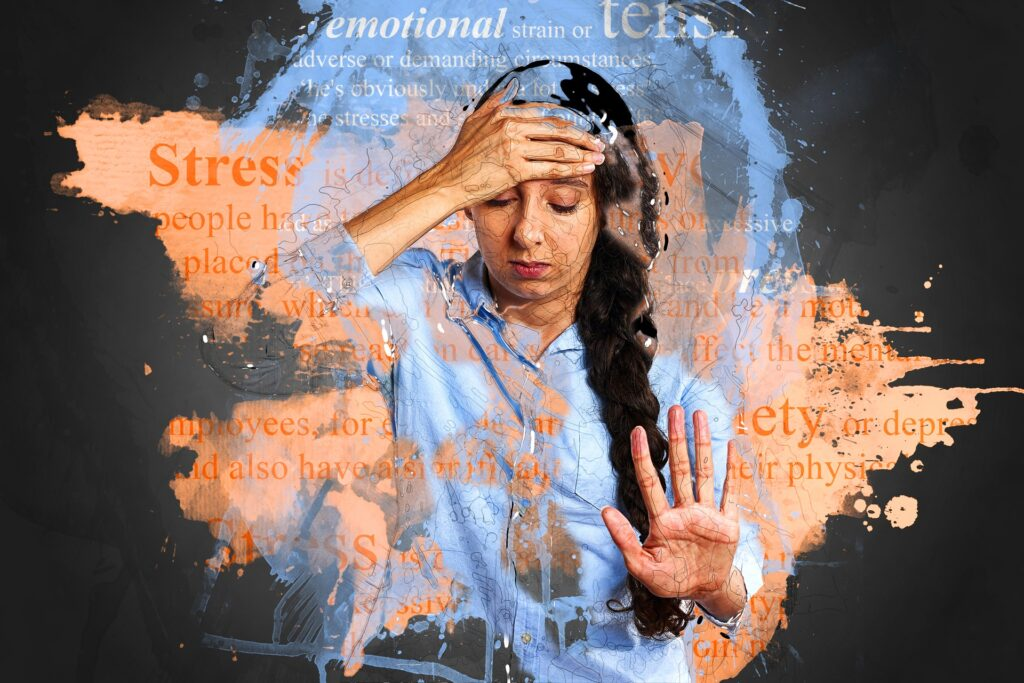 worry - stress - anxiety