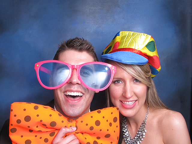 Fun props help your guests shine