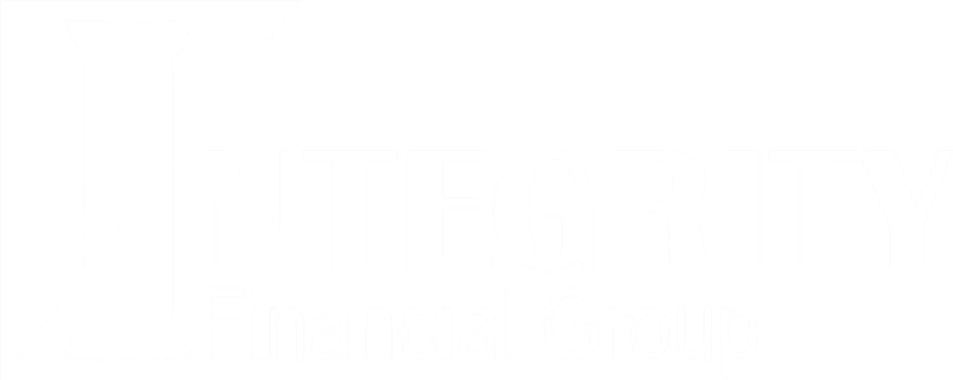 Integrity Financial Group Logo white