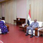 بنسودا: حصلت على تأكيدات من البرهان بمحاسبة مرتكبي جرائم دارفور