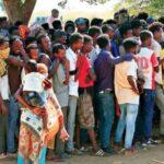 ارتفاع عدد اللاجئين بولايتي القضارف وكسلا الي (27) الف لاجي