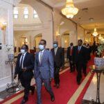 الوزراء الجدد يؤدون اليمين الدستورية امام رئيس مجلس السيادة الانتقالي