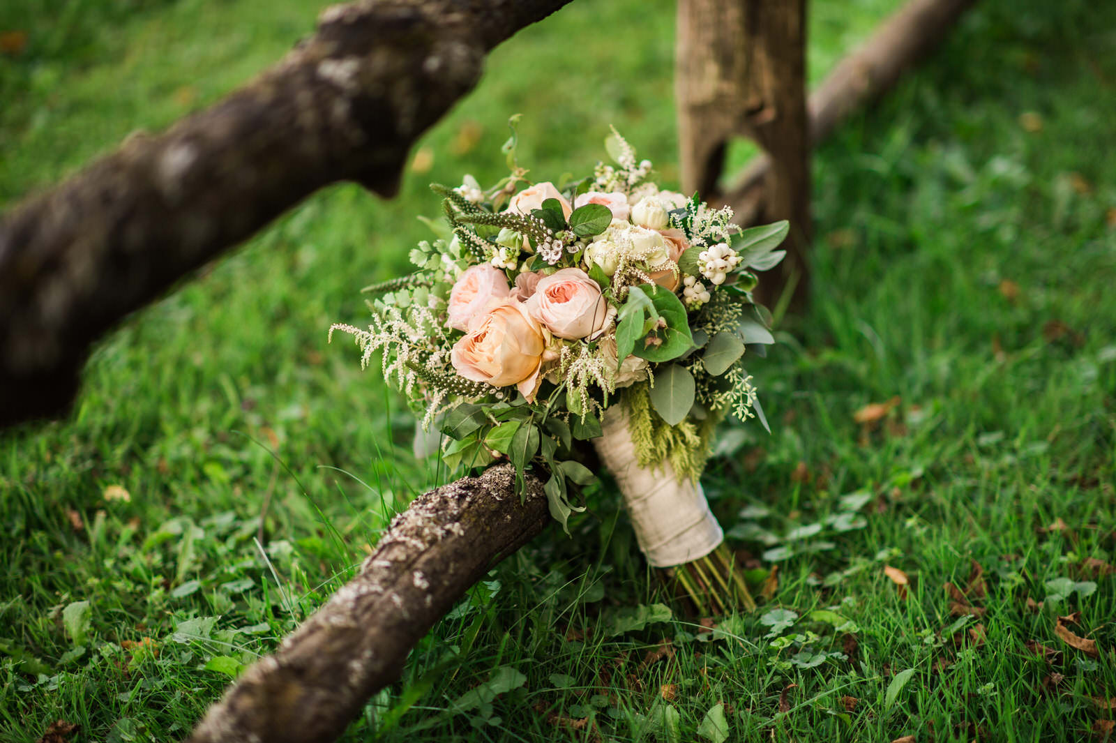 Elegant English Bridal Bouquet