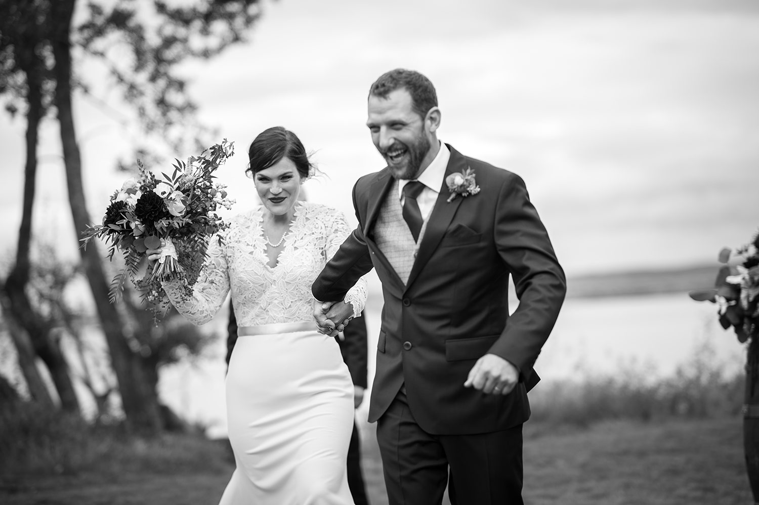 Whidbey Island wedding at Comforts Winery