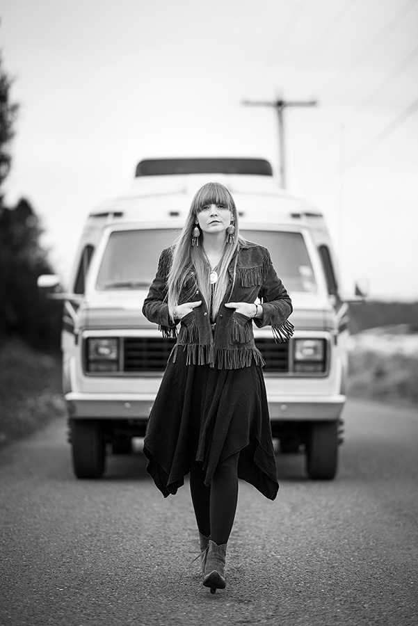 Courtney Marie Andrews Put the Fire Out Portrait shoot, by Andy Shepard Photography
