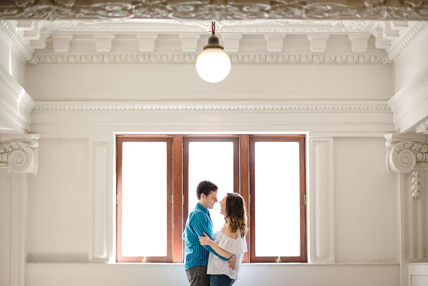 King Street Station Seattle Engagement Session