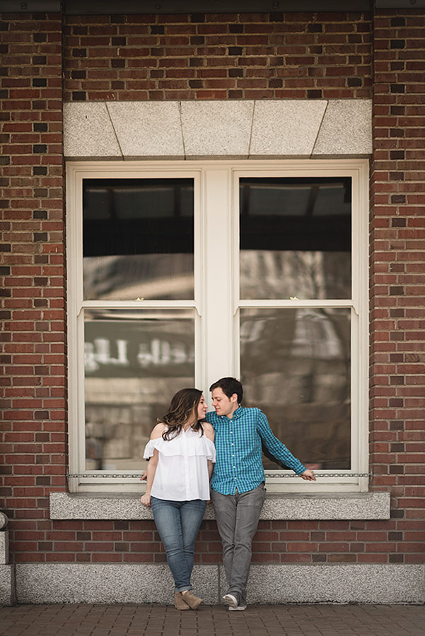 King Street Station Downtown Seattle Engagement Session