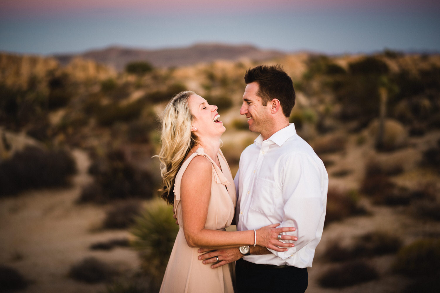 Desert engagement and couple's portrait session in Tucson, Arizona