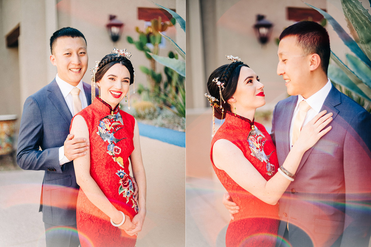 Hacienda Del Sol wedding portraits