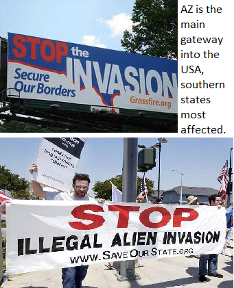 stop invasion secure borders