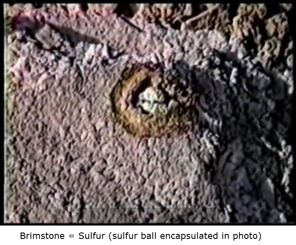 brimstone sulfur ball