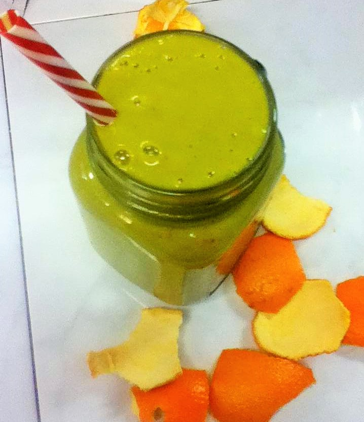 green zest smoothie