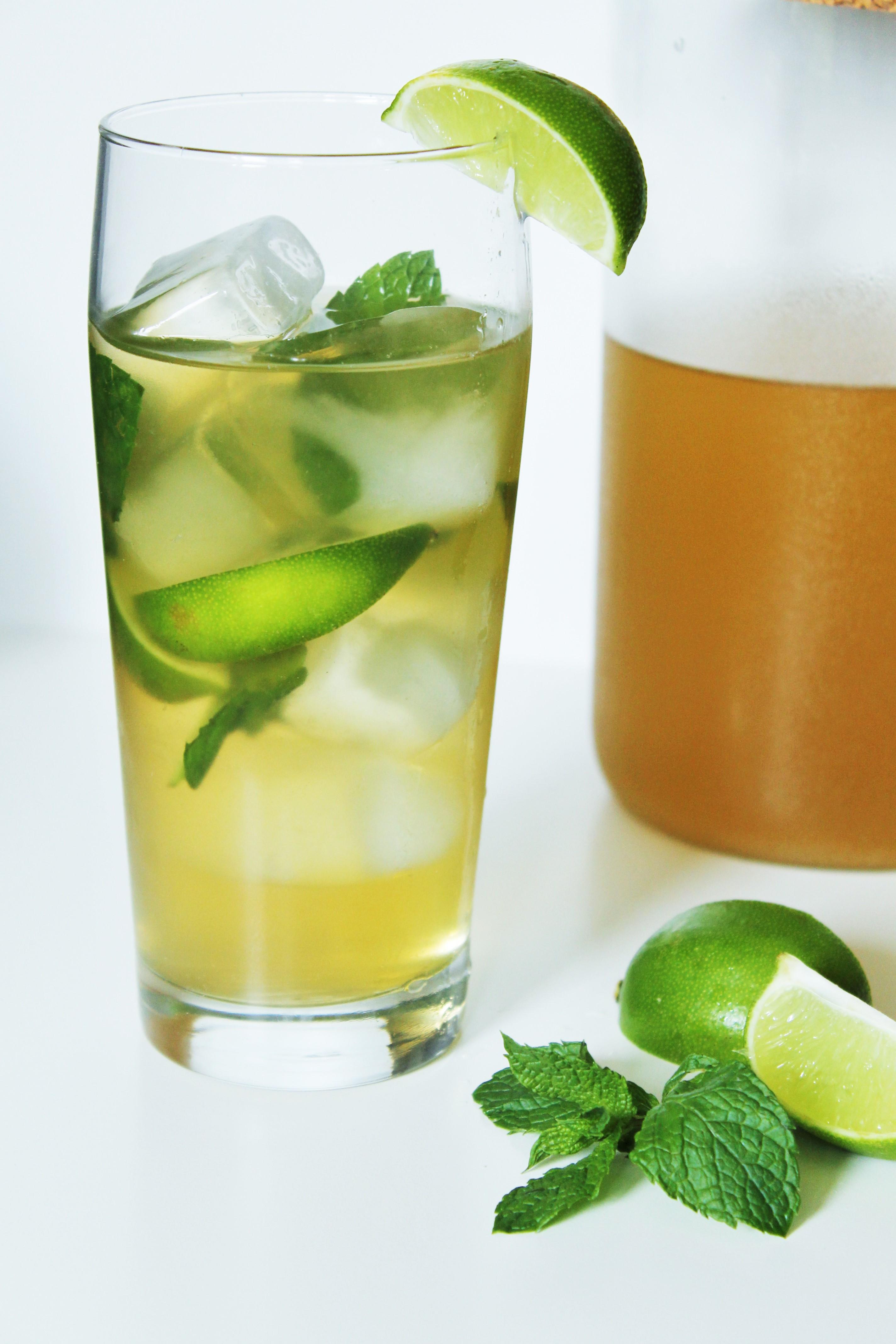 Green Mojito Iced Tea