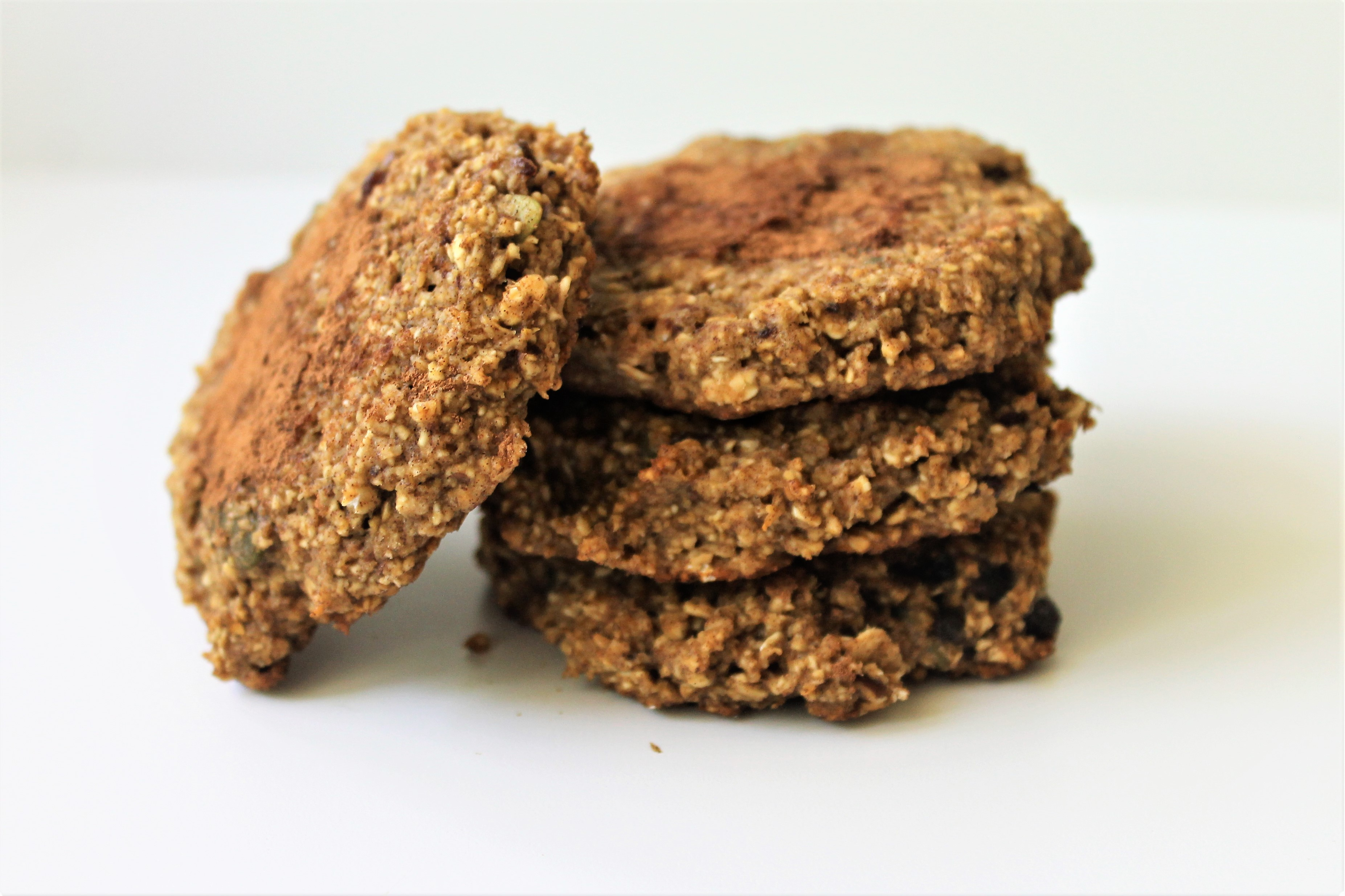 Breakfast Banana Oat Cookies