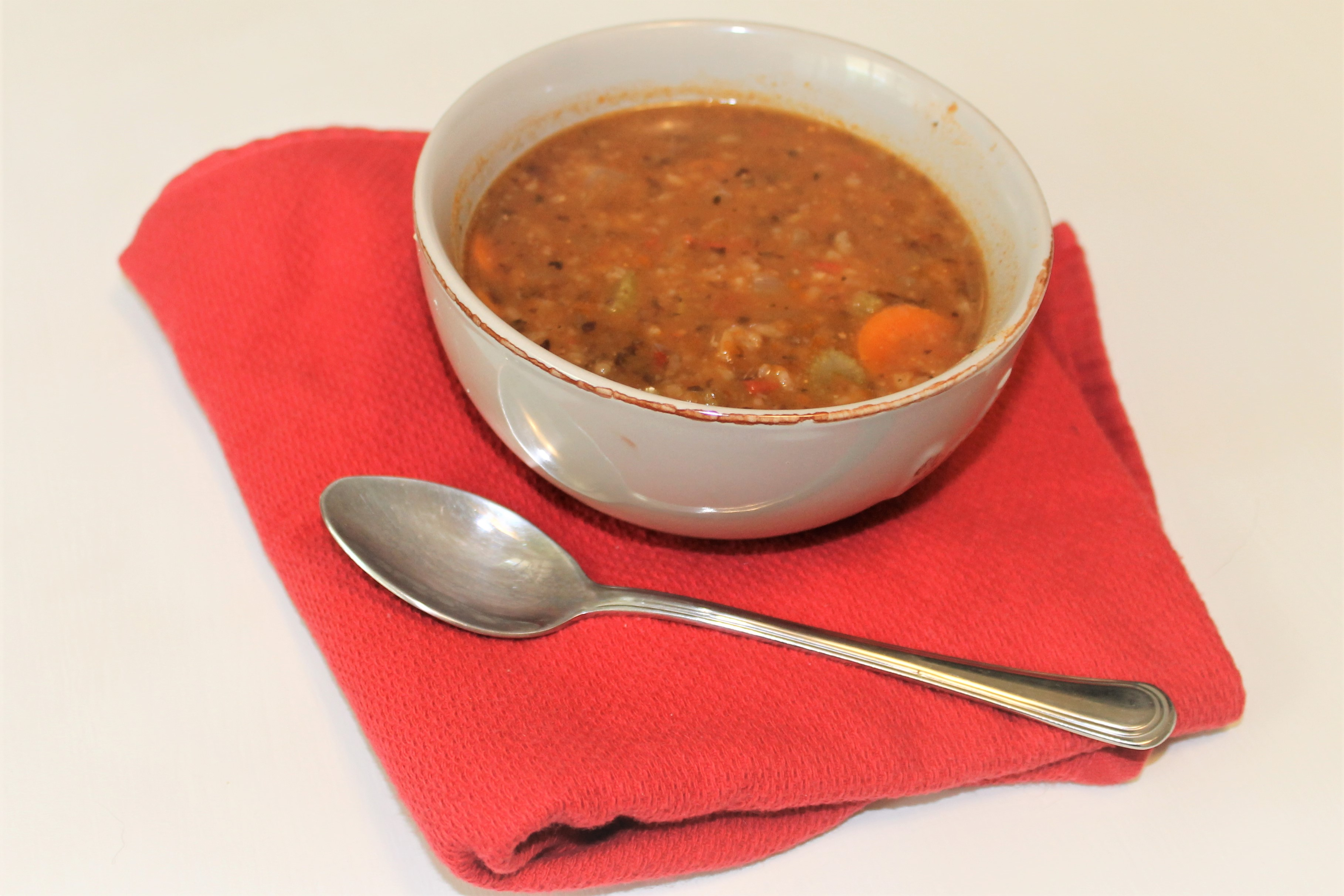 Spicy Vegetable Black Bean Soup