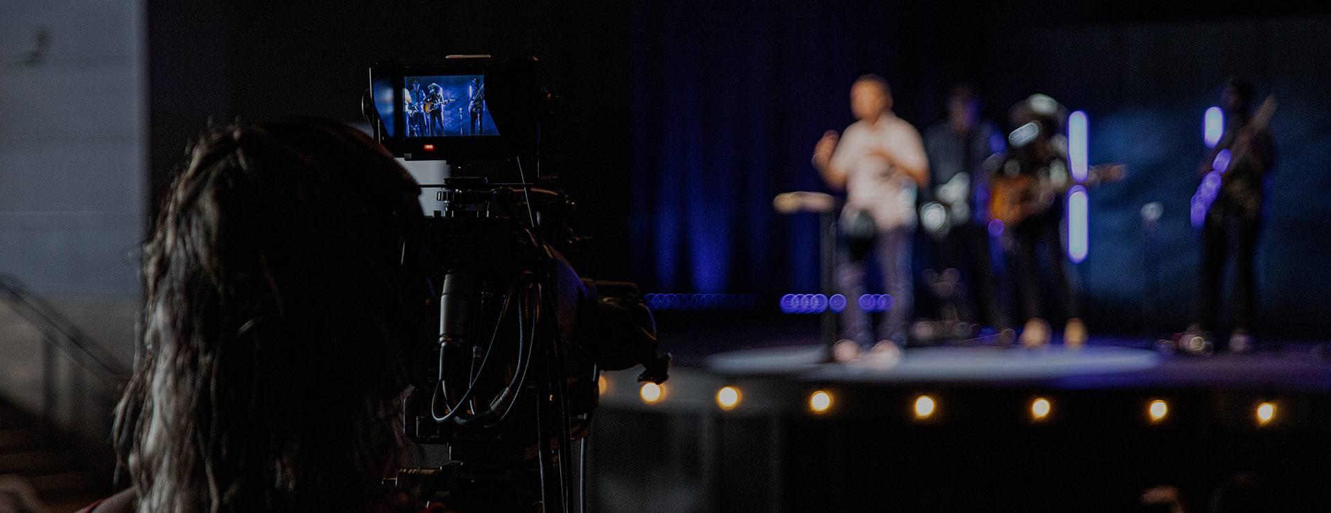 video church service